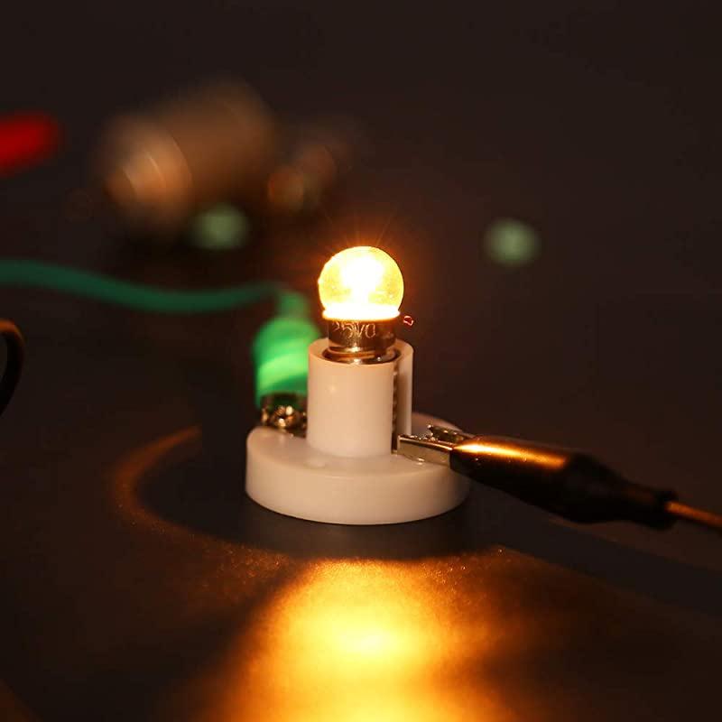 Science Experiment Educational Montessori Sntieecr Electric Circuit Motor Kit