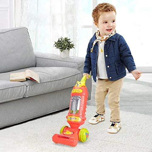 Toy Vacuum Cleaner for Toddler with Lights /& Sounds,Cord-Free Pretend Play Housekeeping Vacuum Toys with Working Suction Boys and Girls SUPER JOY Kids Vacuum Great Gifts for Toddlers Ages 3+