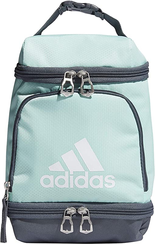 adidas Unisex Excel Insulated Lunch Bag, Clear Mint/Onix/White ...